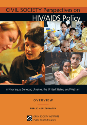 Civil Society Perspectives on HIV/AIDS Policy