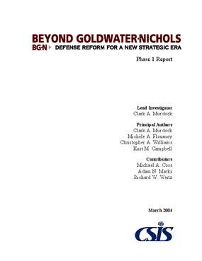 Beyond Goldwater-Nichols