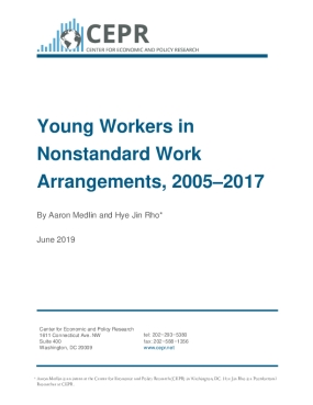 Young Workers in Nonstandard Work Arrangements, 2005-2017