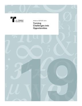 The Teagle Foundation 2019 Annual Report