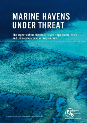 Marine Havens Under Threat: The Impacts of the Climate Crisis on Tropical Coral Reefs and the Communities That Rely on Them