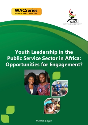 Youth Leadership in the Public Service Sector in Africa: Opportunities for Engagement?